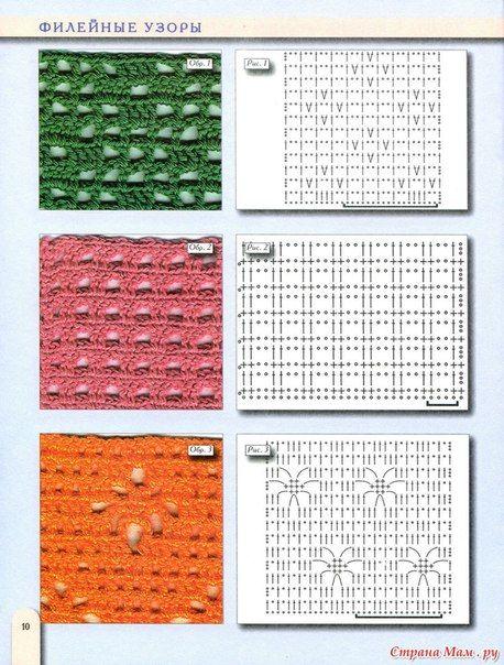 Delicadezas en crochet Gabriela: Colección de puntos en ganchillo