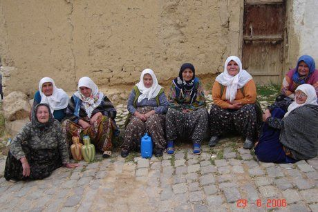 Women in A Cigil, Konya, Turkey
