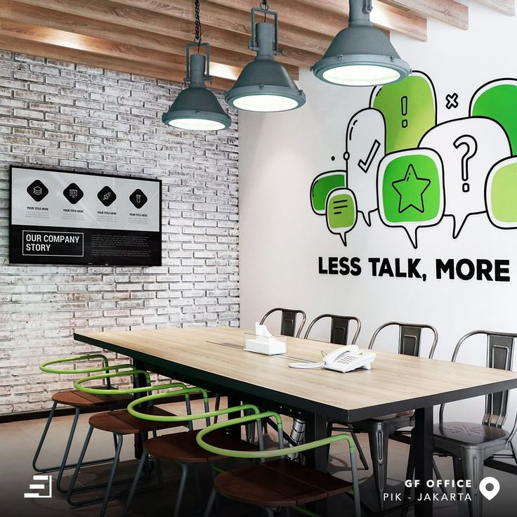 """Office environments should boost employee productivity! The playful and creative design in GF Office left all the impression of """"traditional-office"""" in hope of collaboration between the introverts and extroverts as a fun team to get more and more creative ideas for business."""