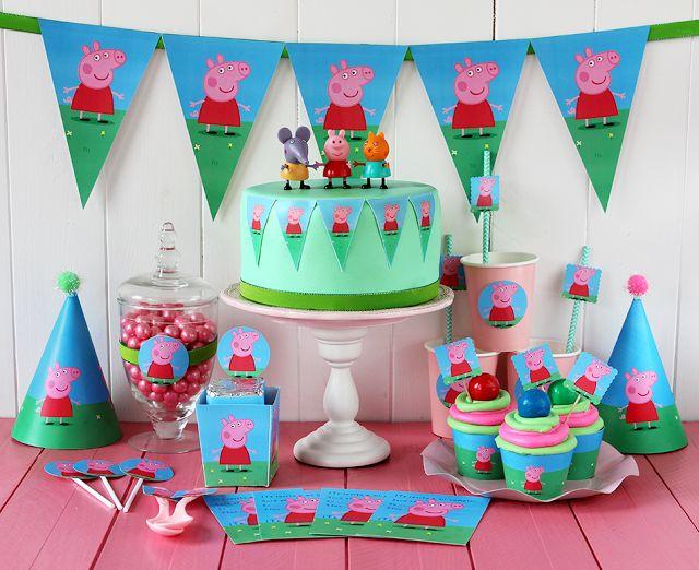 peppa pig cumpleaños - Buscar con Google