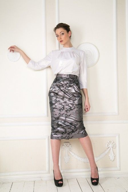 Vinta Definita blouse and skirt. www.facebook.com/irishcouture