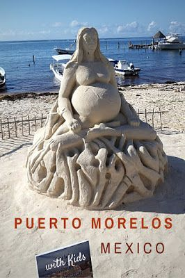 Puerto Morelos, Mexico is a perfect place for families to relax and connect. Find out more at thedustyfootdiary.com