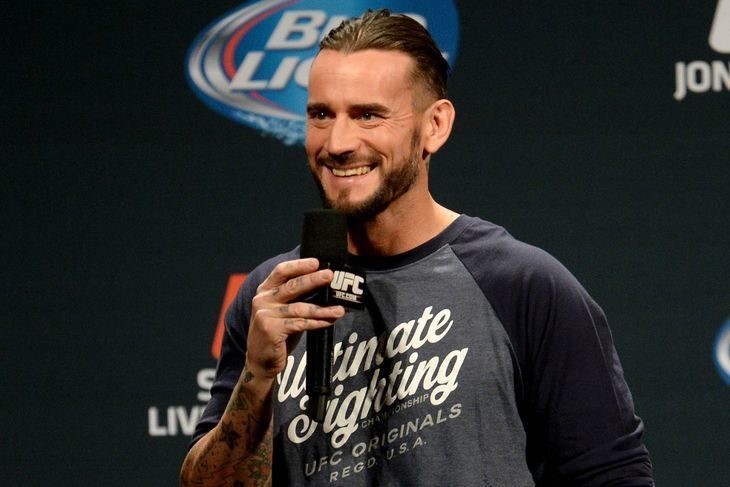 CM Punk To Return To The UFC?