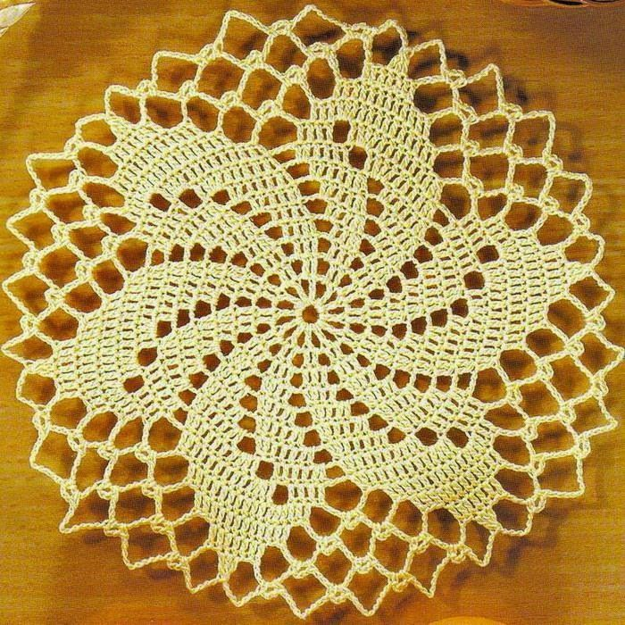 Crochet Patterns Of Small Doily
