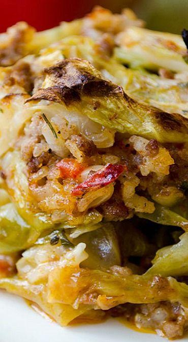 Paleo Unstuffed Cabbage Casserole