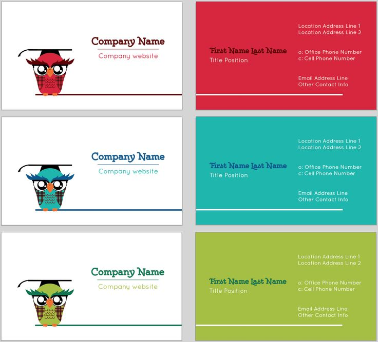 7 best Design Tool Templates: Quirky Business Cards images on ...