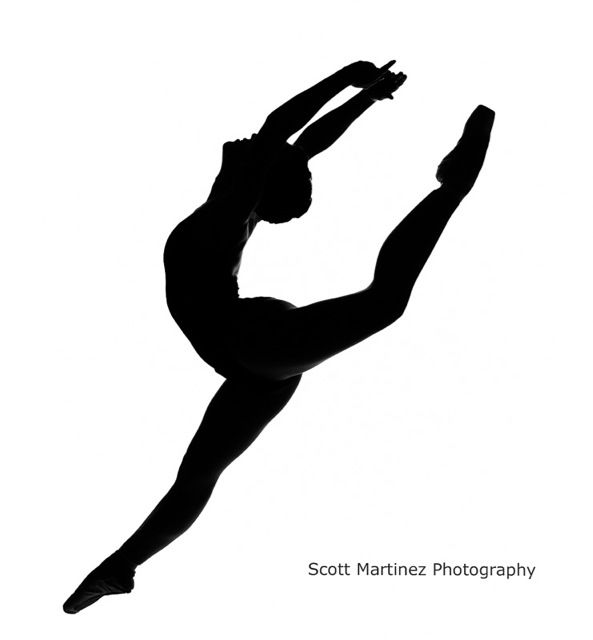 Dancer jumping silhouette by wwwscottmartinezphotography for 1234 get on the dance floor video download