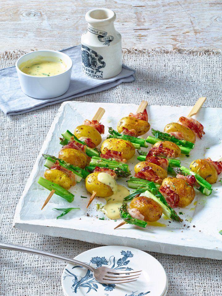 Leckere Kartoffelspieße für den perfekten Grill-Abend