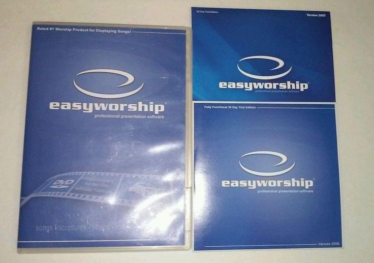 EASYWORSHIP Professional Presentation Software Version 2006 Windows CD-Rom BONUS #EasyWorship