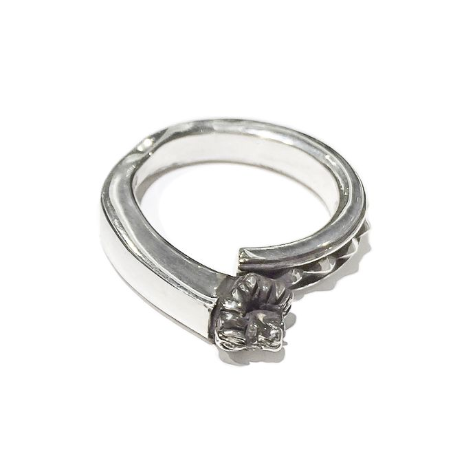 Silver Pyramid  Lion Mens Ring - This lion ring for men is also a pyramid ring for men made from sterling silver. This handmade mens ring is a cool ring that can give an edge to a variety of mens styles.