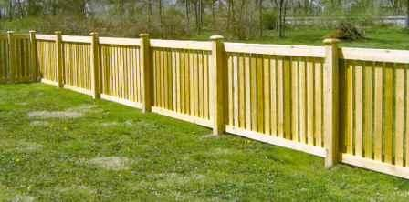 There Are Many Different Styles Of Wood Fences Found In