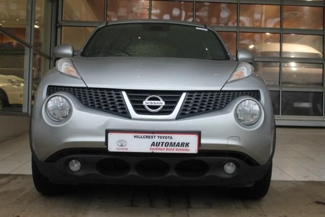 Sleek and In-Charge. Get this Luxurious 2012 #Nissan #Juke 1.6 #Acenta+ . This SUV is Silver in colour and comes with a Speedy 1.6 Petrol Engine. It is available in a Manual Transmission, Low Mileage of 50 000Kms, Priced R184 990. Extra's :  ABS  Air Conditioner   Adaptive Headlights  Airbag - Driver & Passenger  Alarm  Audio Control on Steering Wheel  ASR   Central Locking Remote   Radio/CD  Contact Keith Rabilal Now on 082 323 1303 / 031 737 1500 or Email keithr@smg.co.za