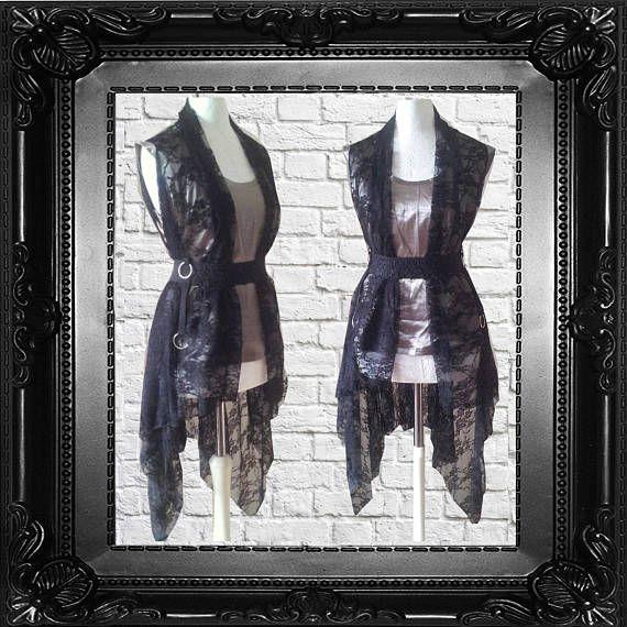S M Gothic Flapper Addams Etsy Black Cherrys Store Vintage