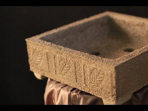 como fazer vaso profissional pra bonsai - YouTube
