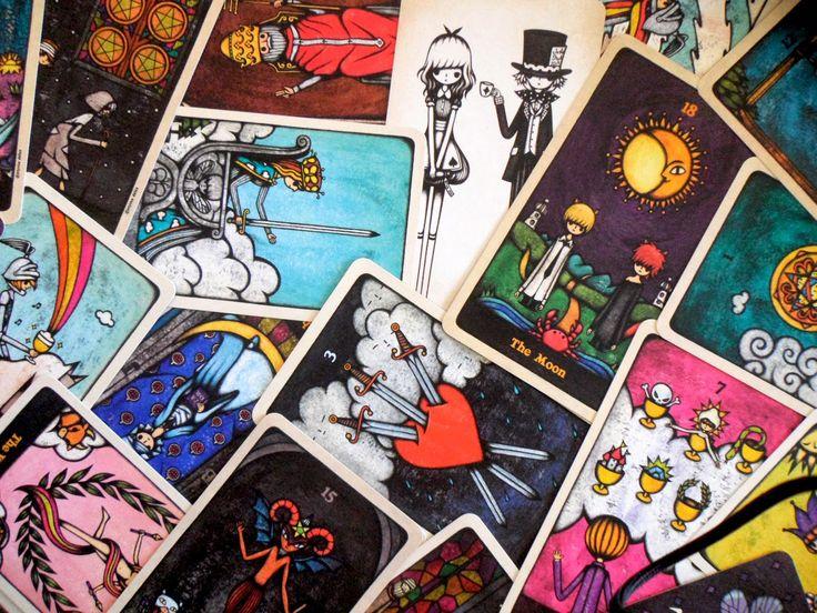 Delos tarot tarot scorpio art artwork