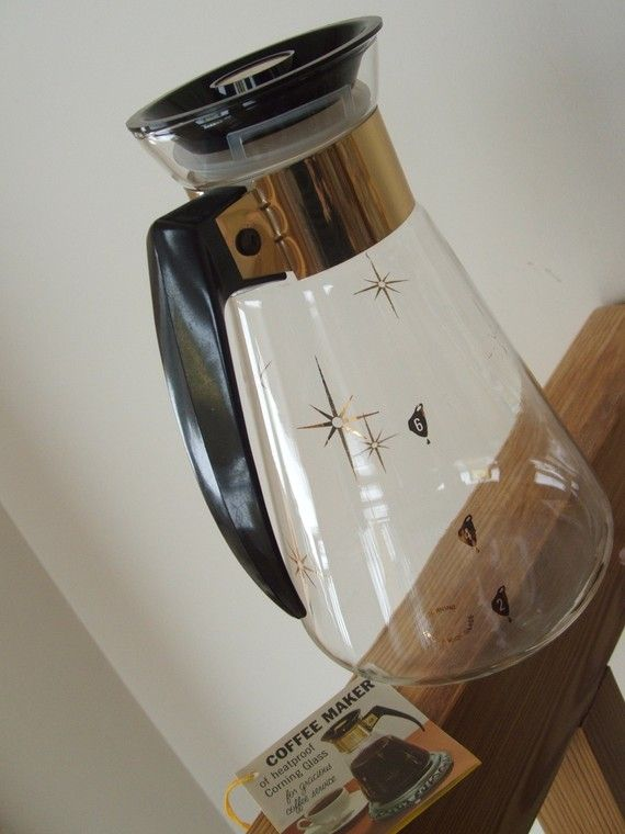 Hey, I found this really awesome Etsy listing at http://www.etsy.com/listing/69785074/vintage-corning-glass-coffee-maker