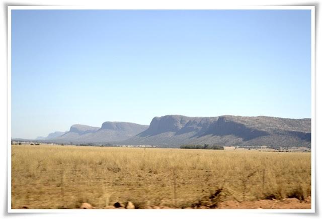 LIVING LIFE TO THE MAX:  Waterberg Mountain range. June 2012
