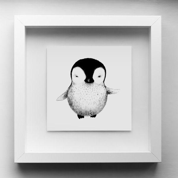 Samma som de andra minisarna, men pingvinen var fin. Miniprint Pingvin (15x15 cm) - TAVLOR & POSTERS