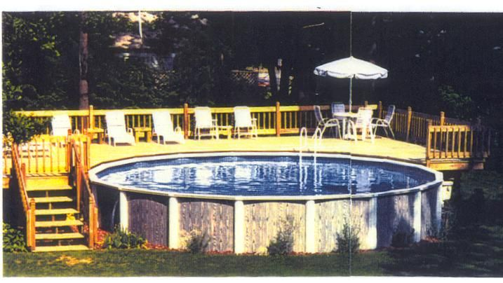 Building Above Ground Pool Deck | Above Ground Pools Decks and Decorating Ideas