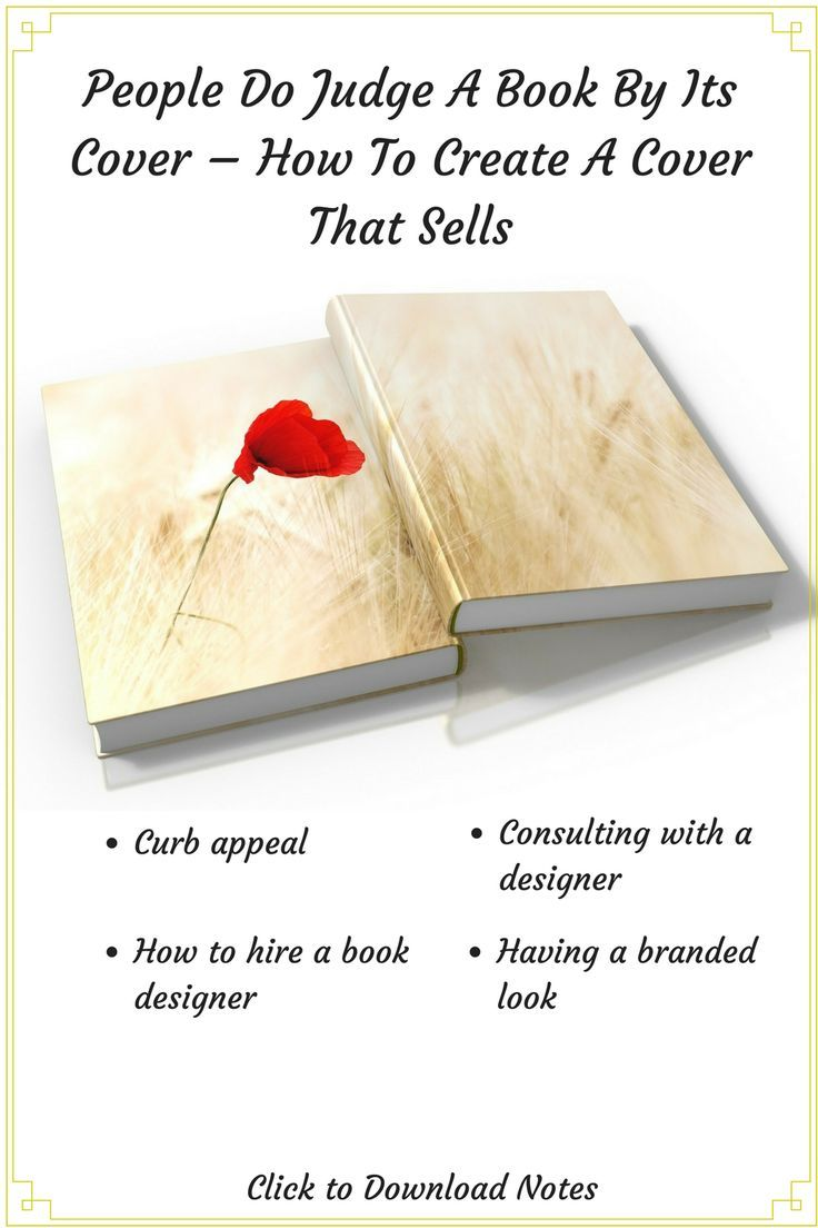 How to create a book cover that sells your books!