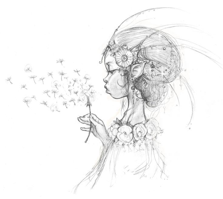 """""""Queen of the Elves"""" Design - Jean-Baptiste Monge (c)"""