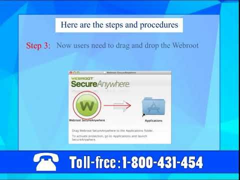 If you failed to install call  Webroot Antivirus Support number 1-800-431-454 to get online support for such issues.