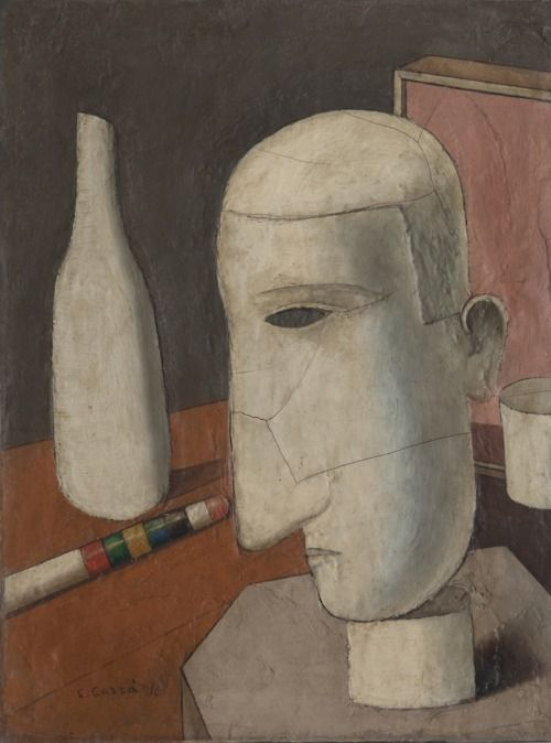 """Carlo Carra """"Il Gentiluomo Ubriaco"""", 1916"""