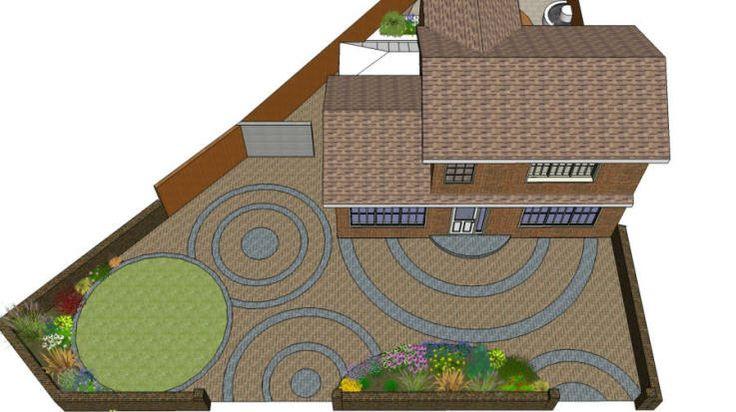 13 best garden landscape designs images on pinterest for Computer landscape design