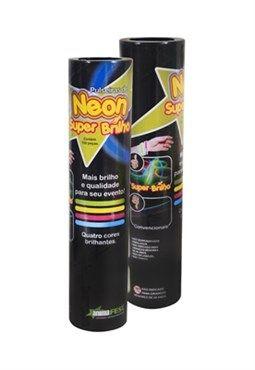 Pulseira de Neon Super Brilho (100 Un)*