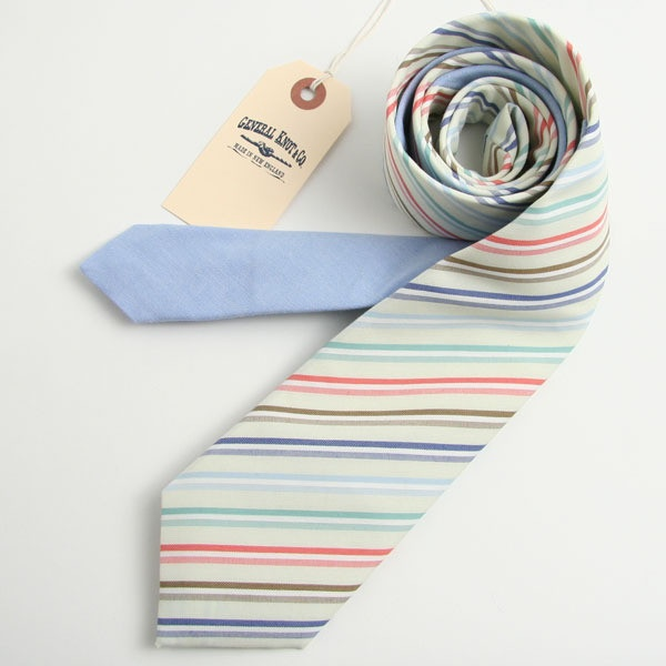 Deadstock Harbour Stripe Tie