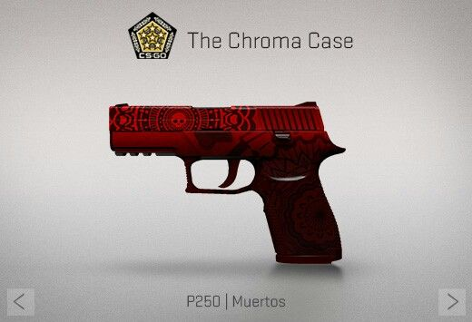 Counter-Strike Global Offensive: The Chroma Case: P250 Muertos