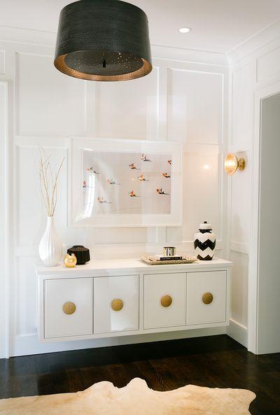 Interiors - Evars Anderson Design pour l'idée du meuble suspendu
