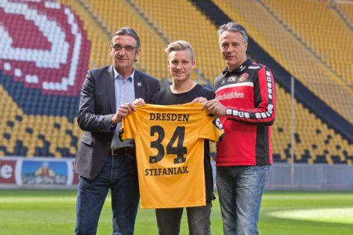 Dynamo Dresden: Marvin Stefaniak mit Muskelfaserriss. Dynamo Dresden muss bis auf Weiteres auf U21-Nationalspieler Marvi ...