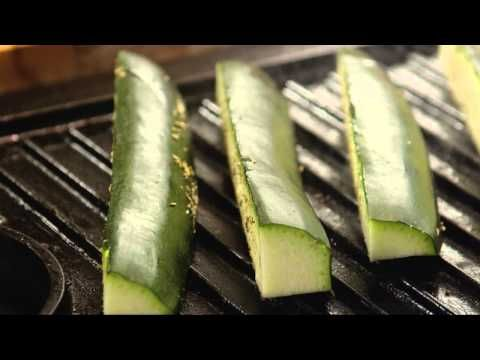 Vegetarian Recipes - How to Grill Zucchini - YouTube