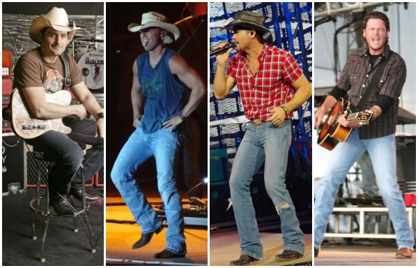 My favorite male country artists!
