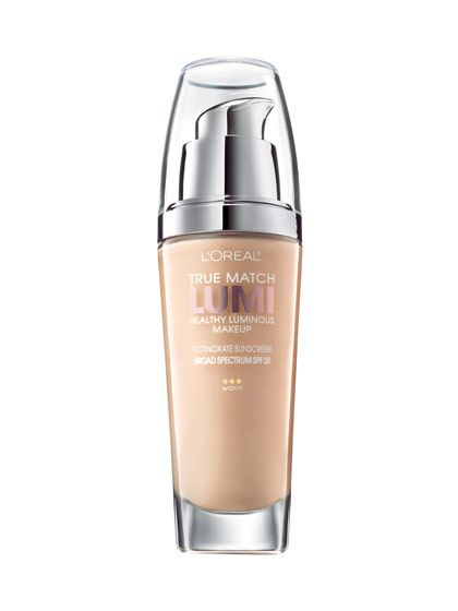 FOR DULL SKIN  L'Oréal Paris True Match Lumi Healthy Luminous Makeup ($12.95) turns a drab complexion into dewy perfection.