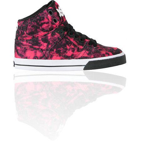 Osiris Girls NYC 83 Vulc Black, Pink & White Shoe