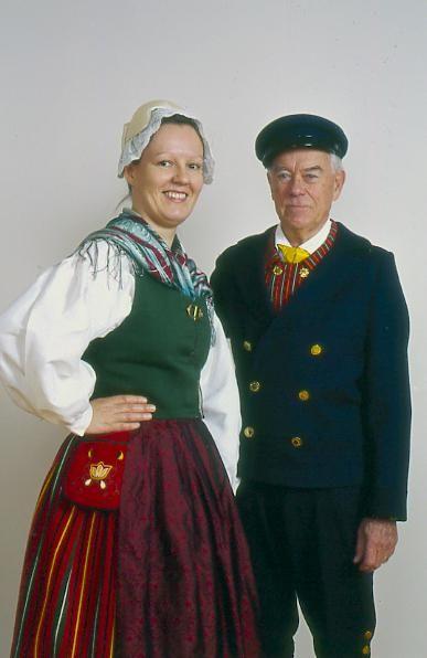 Kyrkslätt Kyrkslätt, Nyland Folkdräkter - Dräktbyrå - Brage