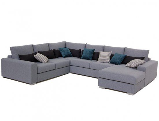 17 best ideas about u shaped sofa on pinterest u shaped couch grey sectional sofa and big couch. Black Bedroom Furniture Sets. Home Design Ideas