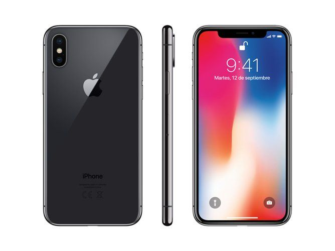 Modernos Moviles Apple Iphone X 64gb Gris Espacial Iphone