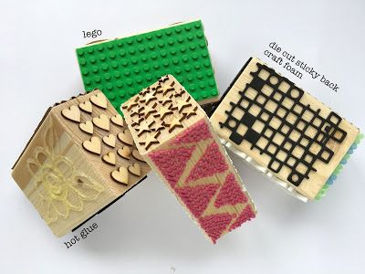 Printing with Gelli Arts®: Gelli® Printing Fun With Texture Blocks