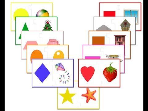 Развивающая дидактическая игра для детей 3-4 лет Фигуры ...