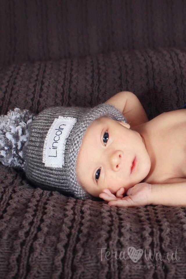 Monogram baby boy winter hat, Baby Boy hat, Personalized hat, knit baby hat, Newborn, baby girl hat, baby, baby shower, new baby, Preemie/4T by KarenFudge on Etsy https://www.etsy.com/listing/250248806/monogram-baby-boy-winter-hat-baby-boy