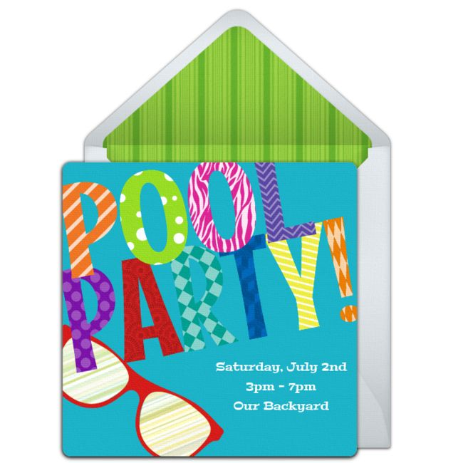 215 best free party invitations images on pinterest | online, Birthday invitations