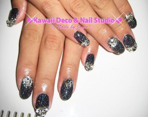 Glitter Gel Nails: Nails Inspiration, Glitter Gel Nails, Kawaii Deco, Nails Studios, Wild Nails, Super Kawaii, Rocks, Photo