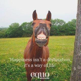 Happiness isn't a destination, it's a way of life.  #MondayMotivation