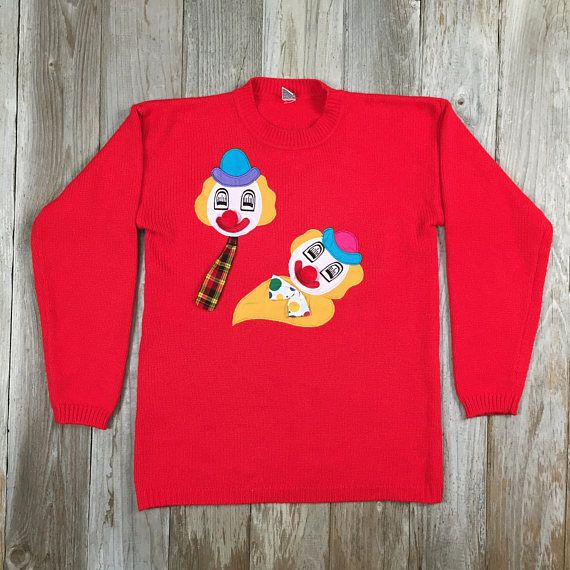 Ugly Clown Sweater!