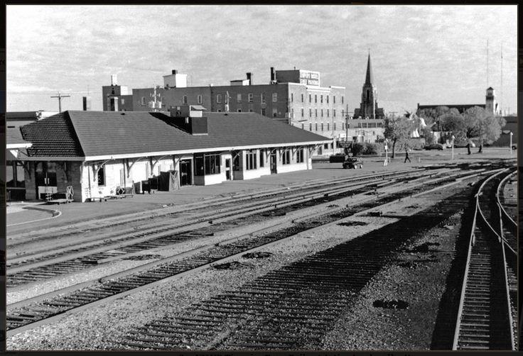 Timmins, Ontario Northland Railway terminal