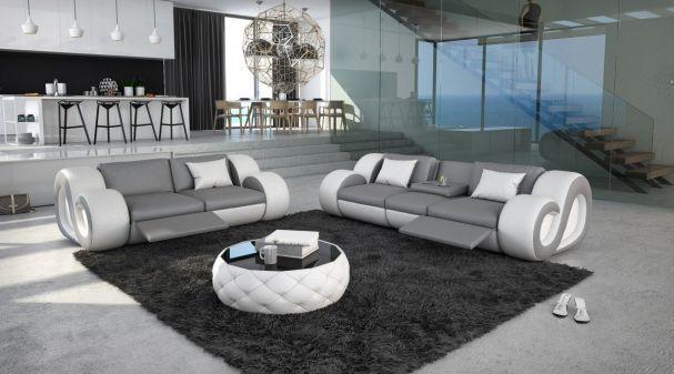 Sofas are now available in many different variants. Very popular are very large models and residential landscapes , which spread an incredible comfort but also require a lot of space. The better choice is often a sofa set. It is still today the most popular sofa type and stands in many living rooms.  http://stores.ebay.de/sofadreams/pages/lp-sofagarnituren/