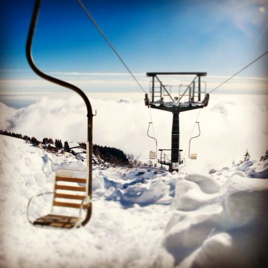 #skiing above the #clouds. #paradise #oasizegna #piemonte #italy #instagram